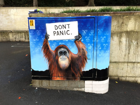 Don't Panic (Courthouse Lane, Auckland)